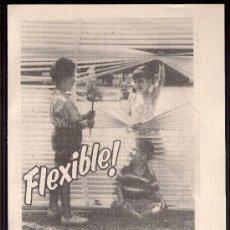 Catálogos publicitarios: ANUNCIO PUBLICITARIO DE PERSIANAS GRADULUX, AGOSTO DE 1957. Lote 39040008