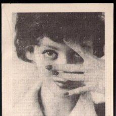 Catálogos publicitarios: ANUNCIO PUBLICITARIO DE MAQUILLAJE DERMILUX, AGOSTO DE 1957. Lote 39040018