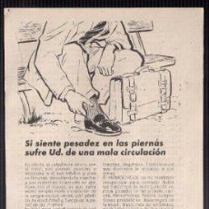 Catálogos publicitarios: ANUNCIO PUBLICITARIO DE HERMOCIRCOL, AGOSTO DE 1957. Lote 39043950