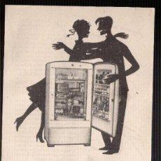 Catálogos publicitarios: ANUNCIO PUBLICITARIO DE NEVERAS TERMOFRIGIDUS, AGOSTO DE 1957. Lote 39044201