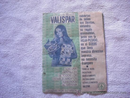 VALISPAR SELLOS DE LA LIBRETA 1 (Coleccionismo - Catálogos Publicitarios)