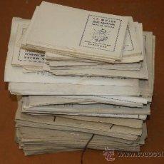 Catálogos publicitarios: GIGANTESCO LOTE DE ANTIGUA EMPRESA: LA MUJER QUE TRABAJA PARA EL HOGAR, BARCELONA. Lote 39260158