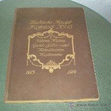Catálogos publicitarios: GRAN CATALOGO PUBLICITARIO DE PRODUCTOS ALEMANES DE VENTA EN ESPAÑA DE 1913. Lote 39256602