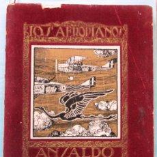 Catálogos publicitarios: CATÁLOGO DE LOS AEROPLANOS ANSALDO. SOCIETA ANONIMA ITALIANA GIO ANSALDO & C. ROMA-GENOVA, 1919.. Lote 39276806