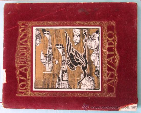 Catálogos publicitarios: CATÁLOGO DE LOS AEROPLANOS ANSALDO. SOCIETA ANONIMA ITALIANA GIO ANSALDO & C. ROMA-GENOVA, 1919. - Foto 2 - 39276806