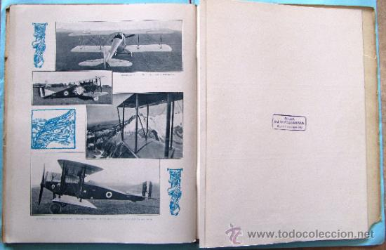 Catálogos publicitarios: CATÁLOGO DE LOS AEROPLANOS ANSALDO. SOCIETA ANONIMA ITALIANA GIO ANSALDO & C. ROMA-GENOVA, 1919. - Foto 16 - 39276806