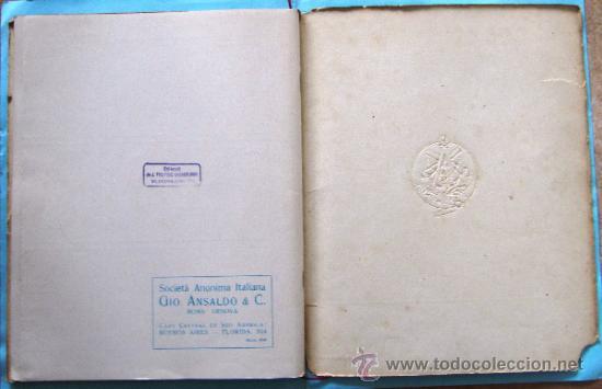 Catálogos publicitarios: CATÁLOGO DE LOS AEROPLANOS ANSALDO. SOCIETA ANONIMA ITALIANA GIO ANSALDO & C. ROMA-GENOVA, 1919. - Foto 18 - 39276806