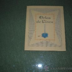 Catálogos publicitários: CATALOGO DE ORLAS DE LINEA. Lote 39273472