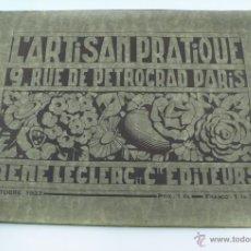 Catálogos publicitarios: CATÁLOGO DE LÁMPARAS, ESPEJOS, CANDELABROS, Y OBJETOS DECORATIVOS, AÑO 1923. 32X24CM. 88 PAG.. Lote 39489456
