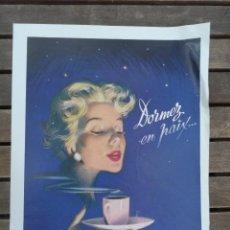 Catálogos publicitarios: CAFE NESCAFE PUBLICIDAD RECORTE AÑOS 50 - 60. Lote 39533194