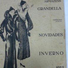 Catálogos publicitarios: CATLOGO DE ROOPA Y COMPLEMENTOS AÑOS 20 -30EN PORTUGUES. Lote 39577511