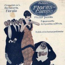 Catálogos publicitarios: FLORES DEL CAMPO 1930 PERFUMERIA FLORALIA LOTE 253 HOJAS PUBLICIDAD EN REVISTAS. Lote 39583714
