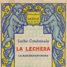 Catálogos publicitarios: LECHE CONDENSADA LA LECHERA, AÑOS 30. : NESTLÉ, 1930. 13.5X20.5. . CATÁLOGO. NORMAL LECHE CONDENSADA. Lote 39877390