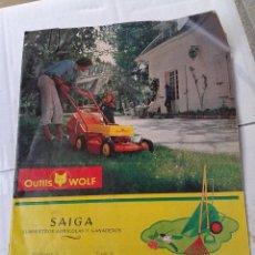 Catálogos publicitarios: ANTIGUO CATALOGO CORTADORAS WOLF AÑO 1977. Lote 39902533
