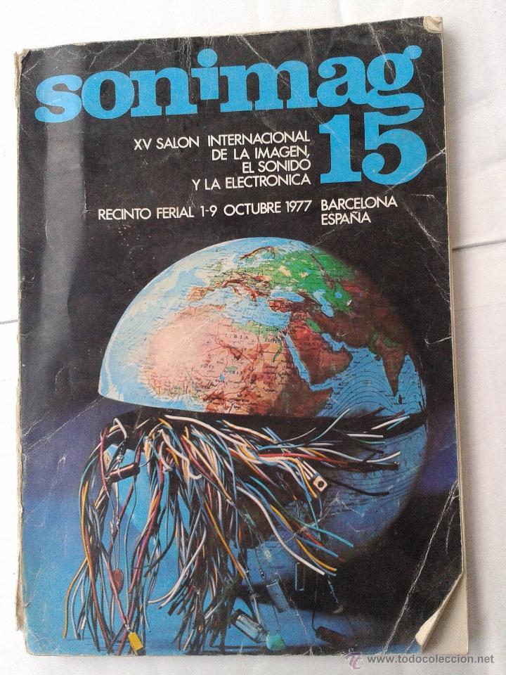 CATALOGO SONIMAG 15 SONIDO Y IMAGEN AÑO 1977 (Coleccionismo - Catálogos Publicitarios)
