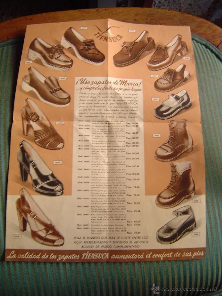 Catalogo Triptico De Zapatos Tiensuca La Tienda Kaufen Alte