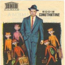 Catálogos publicitarios: UN TIPO LLAMADO MORGAN PROGRAMA DE MANO. Lote 39906981