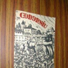 Catálogos publicitarios: PUBLICIDAD CODORNIU. CAVAS EN SAN SADURNI DE NOYA. L10388.. Lote 39990213