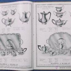 Catálogos publicitarios: CATÁLOGO PUBLICITARIO DE MAPPIN & WEBB. LONDRES. DE DICIEMBRE DE 1921.10 PÁGINAS. 25,5 X 20 CM.. Lote 40183325