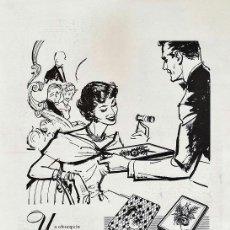 Catálogos publicitarios - hoja suelta publicitaria - bombones nestle - chocolate - alimentacion - año 1959 - rd3 - 40298011