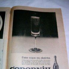 Catálogos publicitarios: PUBLICIDAD DE CODORNIU · 1966 · ANUNCIO ORIGINAL DE PRENSA. Lote 40541392