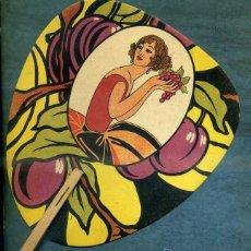 Catálogos publicitarios: ABANICO PAYPAY MODERNISTA PUBLICIDAD PASTES JOSEFA COROMINAS GRANOLLERS. Lote 40591663
