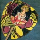 Catálogos publicitarios: ABANICO PAYPAY MODERNISTA PUBLICIDAD PASTES JOSEFA COROMINAS GRANOLLERS. Lote 40591673
