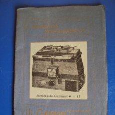 Catálogos publicitarios: (CAT-27)CATALOGO APARATOS FOTOGRAFICOS L.GAUMONT. Lote 40678002