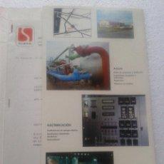 Catálogos publicitarios: ANTIGUA PUBLICIDAD SERVICIO SIMSA EL PERELLO 1977. Lote 41024633