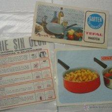 Catálogos publicitarios: 3 ANTIGUAS PUBLICIDADES ORIGINALES MAGEFESA AÑOS 70. Lote 41061409