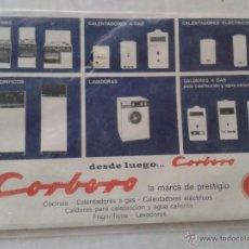 Catálogos publicitarios: ANTIGUO MANUAL COCINAS CORBERO . Lote 41112358
