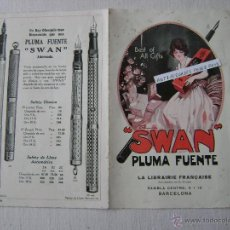 Catálogos publicitarios - SWAN.PLUMA FUENTE.DIPTICO - 41217725