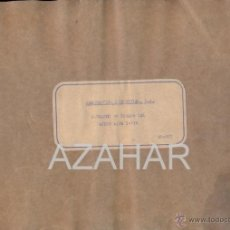 Catálogos publicitarios: MADRID,1955, CATALOGO DE PIEZAS DEL AVION AISA I-11B,RARISIMO,73 PAGS.. Lote 41270522