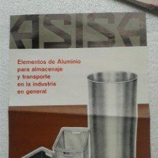 Catálogos publicitarios: ANTIGUA PUBLICIDAD ORIGINAL ASISA SABADELL AÑOS 70 . Lote 41286848