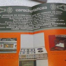 Catálogos publicitarios: ANTIGUO CATALOGO ORIGINAL COCINAS DE LUJO ASPES AÑOS 70. Lote 41301275