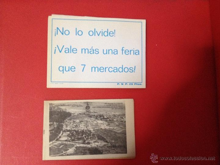 Catálogos publicitarios: XXII FERIA NACIONAL DE MUESTRAS DE ASTURIAS 1978 PLANO RECINTO FERIAL - Foto 12 - 41313417