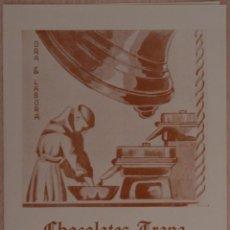 Catálogos publicitarios: CHOCOLATES TRAPA FERIA DEL CAMPO MADRID 1956. Lote 41320585