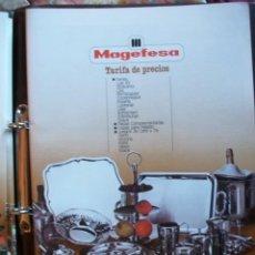 Catálogos publicitarios: CATALOGO MAGEFESA AÑOS 80 VER FOTOS ADICIONALES. Lote 41433193