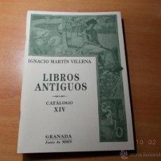 Catálogos publicitarios: CATÁLOGO DE LIBROS ANTIGUOS.. Lote 41508834