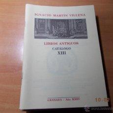 Catálogos publicitarios: CATÁLOGO DE LIBROS ANTIGUOS.. Lote 41508920