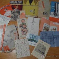 Catálogos publicitarios: LOTE DE ANTIGUOS CATALOGOS PUBLICITARIOS, CATALOGO PUBLICIDAD. Lote 41609200