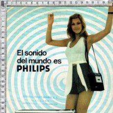Catálogos publicitarios: CATALOGO PRODUCTOS DE SONIDO PHILIPS.. Lote 42310138