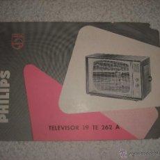 Catálogos publicitarios: PHILIPS PUBLICIDAD TELEVISOR 19 TE 262 A. Lote 42339844