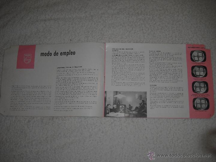 Catálogos publicitarios: PHILIPS PUBLICIDAD TELEVISOR 19 TE 262 A - Foto 2 - 42339844