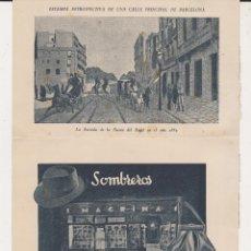 Catálogos publicitarios: PUBLICIDAD SOMBREROS Y BOLSOS MAGRIÑA. Lote 42932694