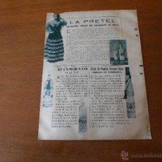 Catálogos publicitarios - RECORTE DE PRENSA ORIGINAL 1933: PUBLICIDAD (CÓRDOBA) ANIS MANOLO Y AGUARDIENTE DE RUTE - 42999202