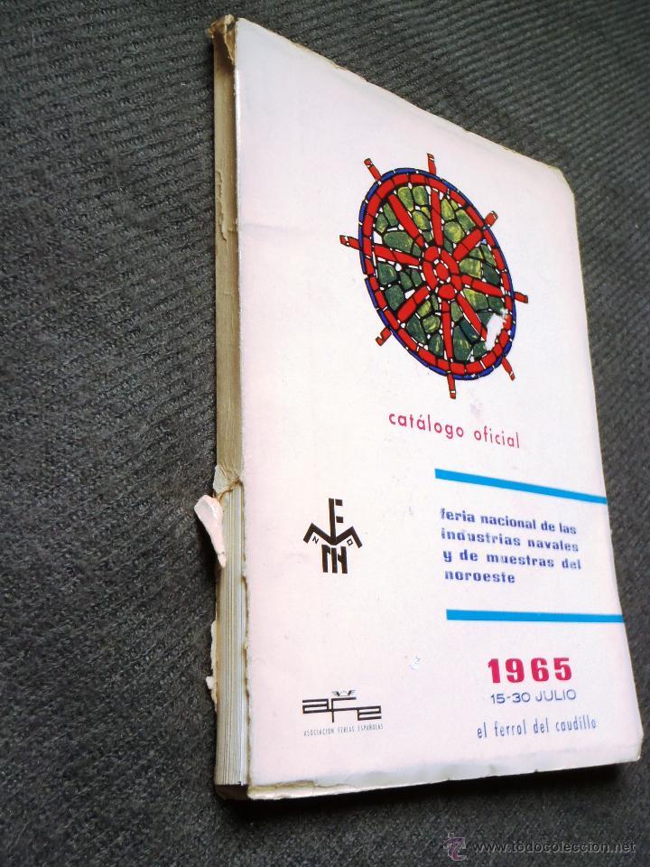 Catálogos publicitarios: FERROL. FERIA DE MUESTRAS AÑO 1965 - CATÁLOGO. GALICIA. - Foto 2 - 43097682