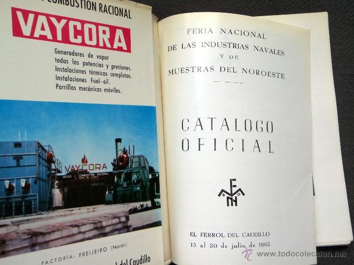 Catálogos publicitarios: FERROL. FERIA DE MUESTRAS AÑO 1965 - CATÁLOGO. GALICIA. - Foto 4 - 43097682