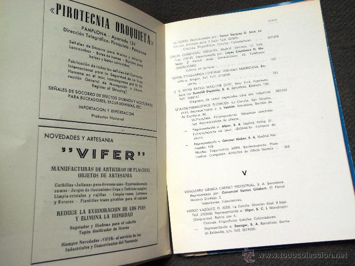 Catálogos publicitarios: FERROL. FERIA DE MUESTRAS AÑO 1965 - CATÁLOGO. GALICIA. - Foto 7 - 43097682