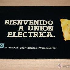 Catálogos publicitarios: CATÁLOGO PUBLICITARIO DE LA UNION ELECTRICA DEL AÑO 1981. Lote 43239387
